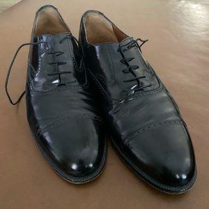 Salvatore Ferragamo Men Cap toe Oxford Shoe 10.5 D